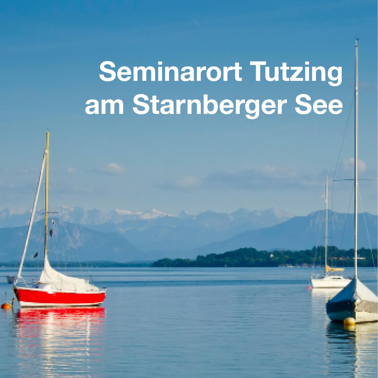 Semianrort Tutzing am Starnberger See. Läd ein zum Lernen und Verweilen.