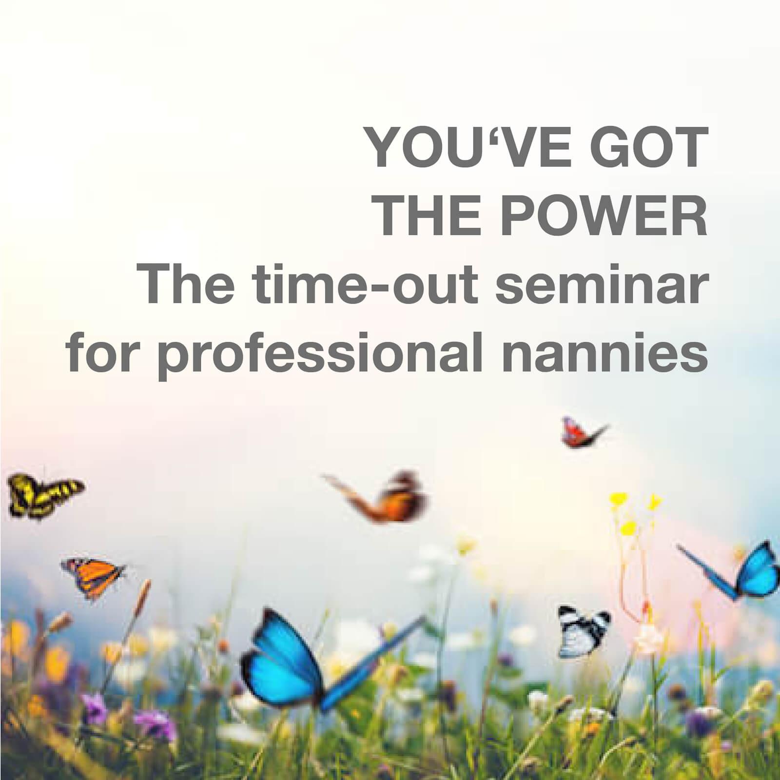 High profile nanny seminar to be back at full strenght.