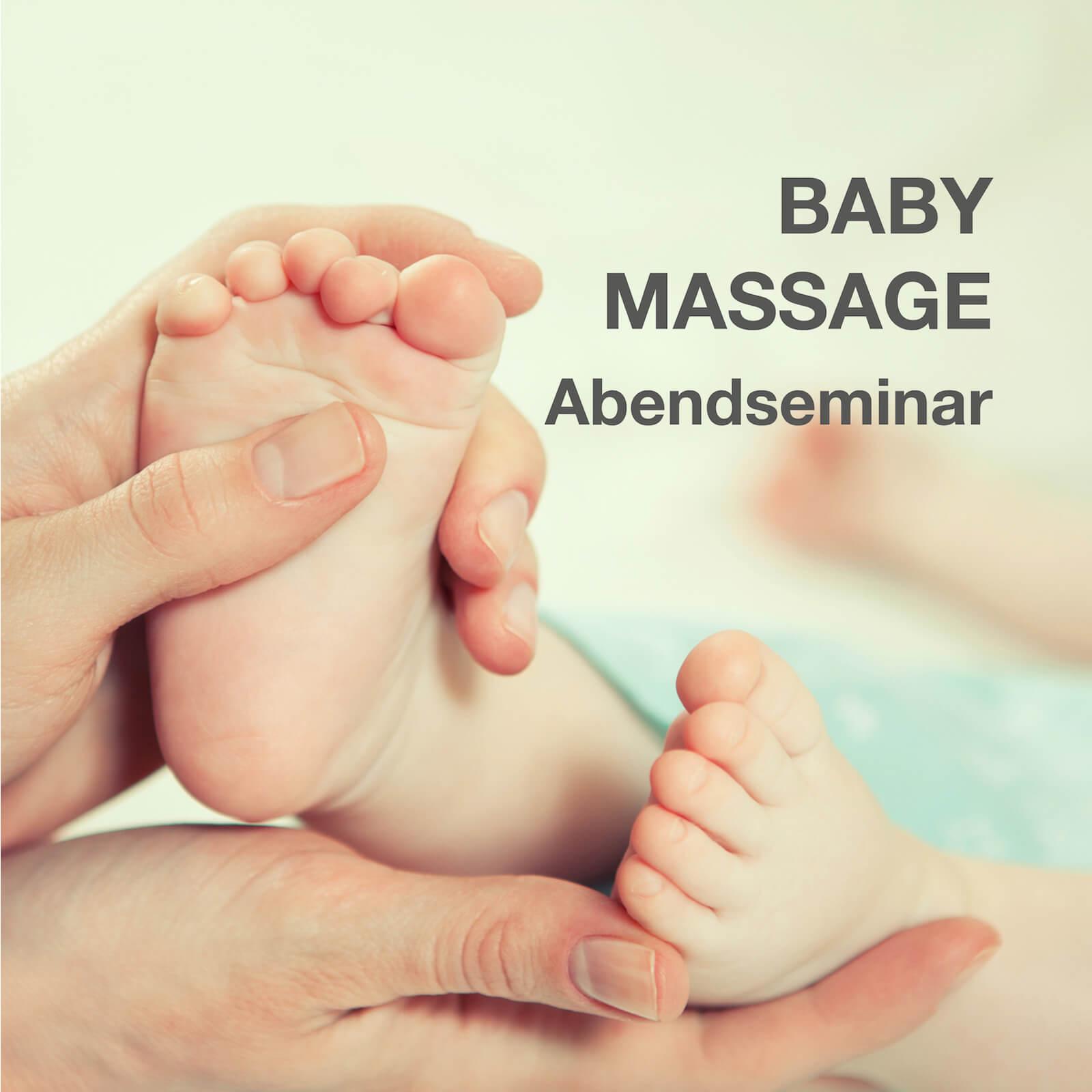 In diesem dreistündigen Abendseminar lernen Sie die Grundlagen für erfolgreiche Babymassage.